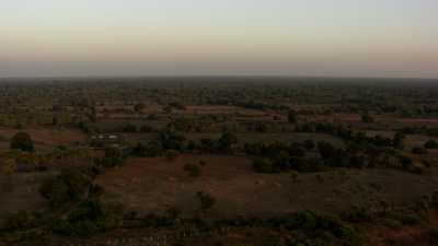 Les temples de Bagan au petit matin