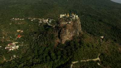 Un temple sur la montagne
