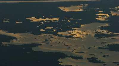 Couchers de soleils sur les marais