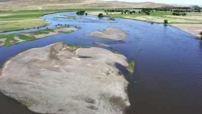 Vallée sauvage de l'Orkhon