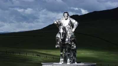 Statue monumentale de Gengis Khan
