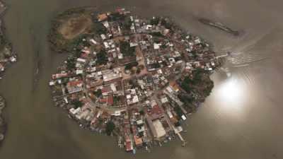 Mexcaltitan, village de pêcheurs au milieu des eaux