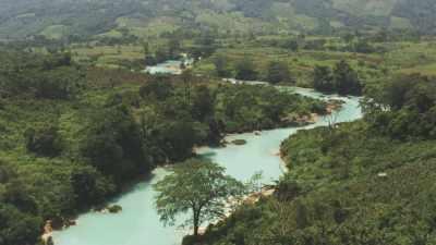 Les cascades d'Agua Azul