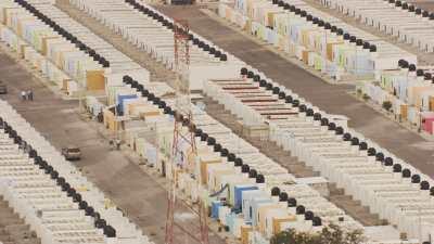Quartiers d'habitation en banlieue de Veracruz