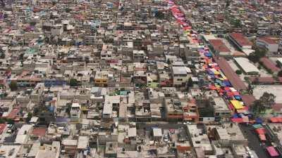 Marché dans un quartier de Mexico