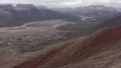 Site minier russe abandonné de Pyramiden