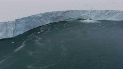 Fonte du glacier Austfonna