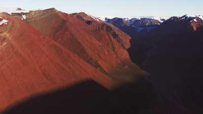 Au milieu des montagnes