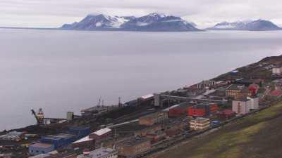 La ville minière russe de Barentsburg