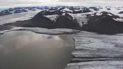 Svalbard, le glacier
