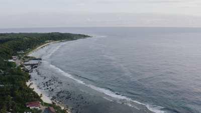 La côte près de Mennen Hotel