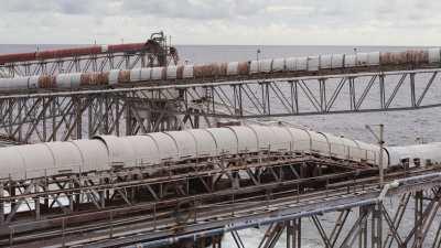 Les installations de chargement du phosphate
