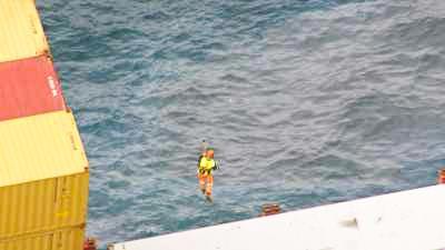 Assistance au naufrage du Rena
