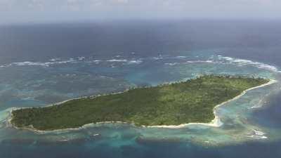 Les îles Cayos Holandeses