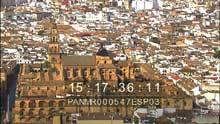 La ville, la Grande Mosquée, les jardins de l'Alcazar
