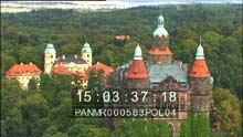 La château de Ksiaz et Varsovie
