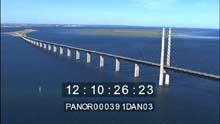 Le pont d'Oresundsbron reliant la Suède au Danemark