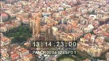 La ville et la Sagrada Familia