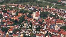 La ville, sur l'île de Gotland
