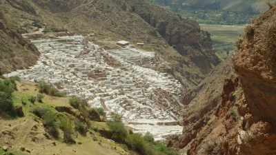 Salines de Maras dans les montagnes