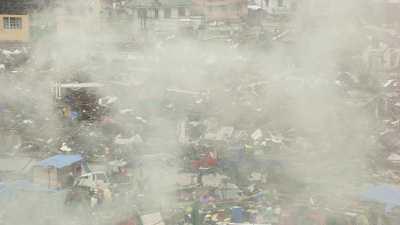 Les suites du typhon Haiyan