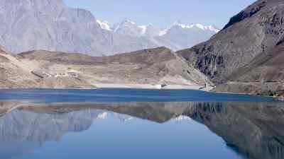 Le lac naturel de Satpara