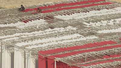 Teinture du tissu à Karachi