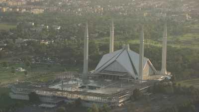 La mosquée Faisal