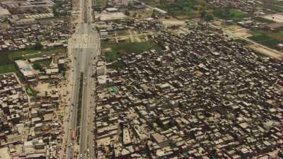 La ville et le caravansérail Akbari Sarai