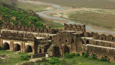 Fort Rohtas près de Jhelum