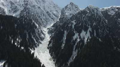 Montagnes du Pakistan, cultures en terrasse