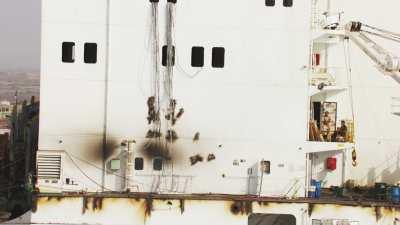 Déconstruction de navires à Gadani