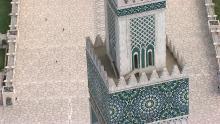 La ville et la Mosquée Hassan II