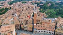 La ville et les monuments de Sienne