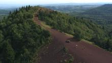 Chaîne des puys près du Puy de la Vache