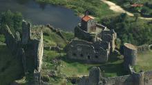 Village d'Arlempdes et château de Beaufort