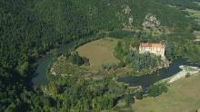 Boucle de la Loire et château de Lavoûte