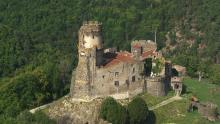Château de Tournoël, images près de Volvic