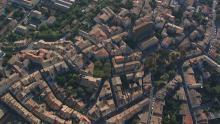 La ville, le Canal du Midi