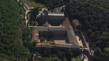 Abbaye de Fontfroide et étang de Bages