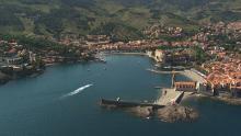 Le littoral entre Collioure et Cerbère