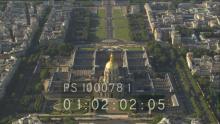Monuments de la Ville et survol plans serrés de la Tour Eiffel