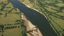 La Loire en amont de Nantes et Saint-Julien