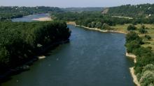 La Loire en amont de Nantes