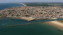 La côte et la ville
