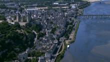 Château de Saumur et images de la Loire