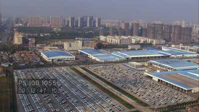 Campagne et urbanisation dans la région de Nantong