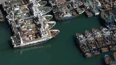 le Port et la ville