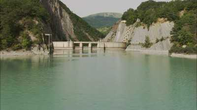 Barrage de Ponsonnas, Alpes