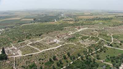 Le vaste site archéologique
